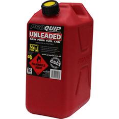 Pro Quip Petrol Jerry Can 10 Litre, , bcf_hi-res