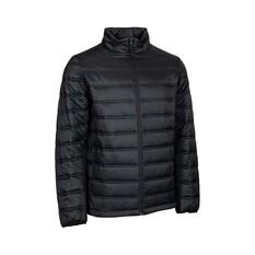 OUTRAK Men's Puffer Jacket Black S, Black, bcf_hi-res