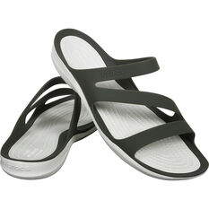 Women's Swiftwater Sandals Smoke / White W7, Smoke / White, bcf_hi-res