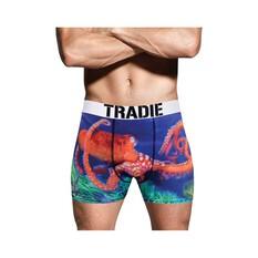 Tradie Men's Octopus Trunk Print S, Print, bcf_hi-res