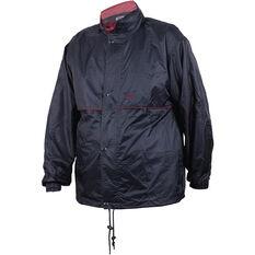 Team Unisex Stolite Original Rainwear Jacket Dark Navy 2XL, Dark Navy, bcf_hi-res