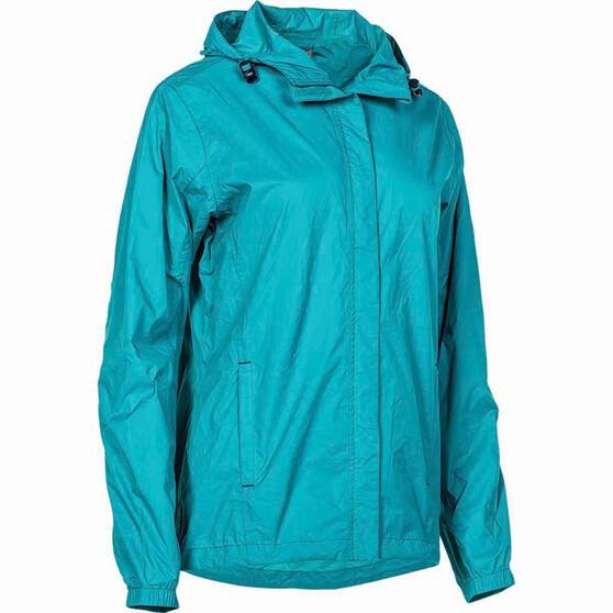 OUTRAK Women's Packaway Rain Jacket, Tile, bcf_hi-res