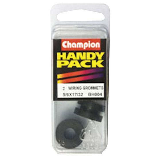 Champion Wiring Grommet - 5 / 16inch X 17 / 32inch, BH004inch, Handy Pack, , bcf_hi-res