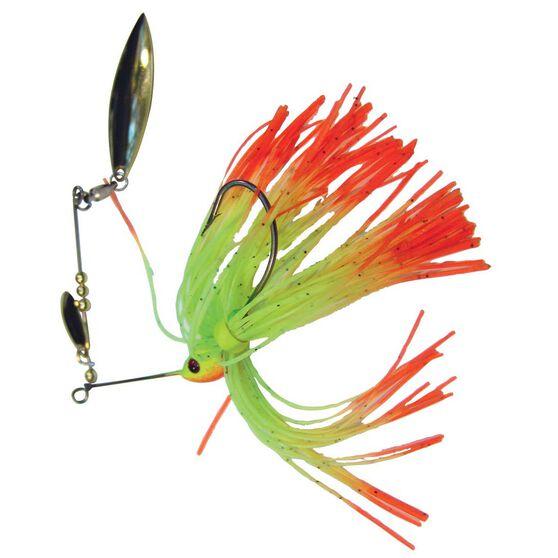 Tackle Tactics Striker Spinner Bait Lure 1 / 4oz Chartreuse Fire Tail, Chartreuse Fire Tail, bcf_hi-res