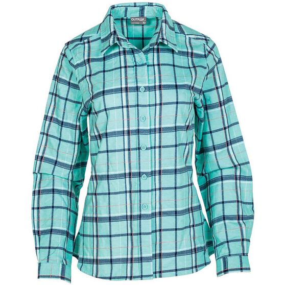 OUTRAK Women's Flannel Shirt, , bcf_hi-res