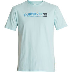 Quiksilver Men's Onstand Tee Crystal Blue S, Crystal Blue, bcf_hi-res