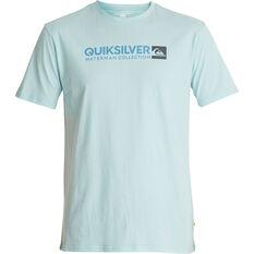 Quiksilver Men's Onstand Tee Crystal Blue S, Crystal Blue, bcf_hi-res