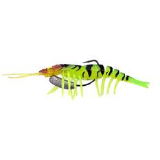 Zerek Live Shrimp Hotlegs Soft Plastic Lure 4in COL 22, COL 22, bcf_hi-res
