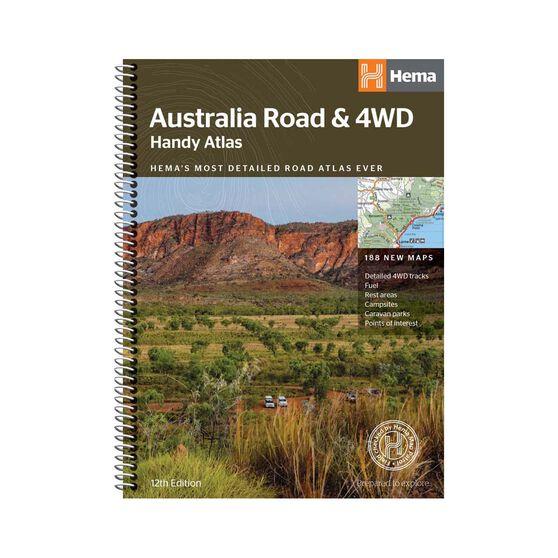 Hema Australia Road and 4WD Handy Atlas Book, , bcf_hi-res