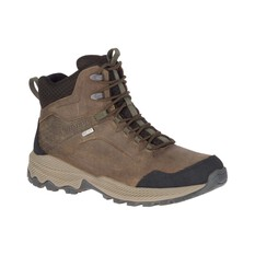 Merrell Men's Forestbound Mid Waterproof Hiking Boots Cloudy 8, Cloudy, bcf_hi-res