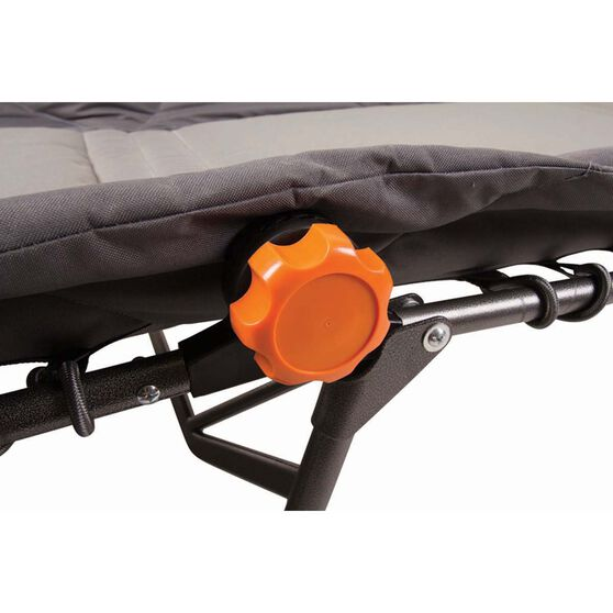 Wanderer Premium Ultra Comfort Folding Stretcher King Single, , bcf_hi-res
