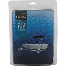 Blueline 4 Bow Bimini Top Black 1.5-1.7m, , bcf_hi-res