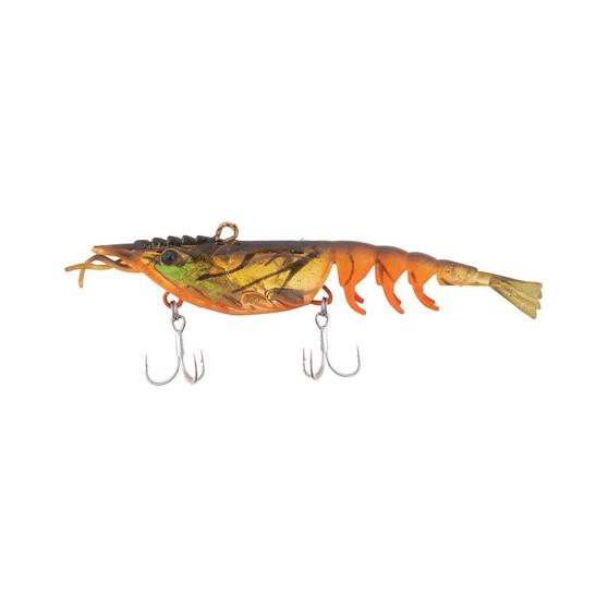 Berkley Shimma Shrimp Soft Vibe Lure 65mm Orange Belly Shrimp, Orange Belly Shrimp, bcf_hi-res