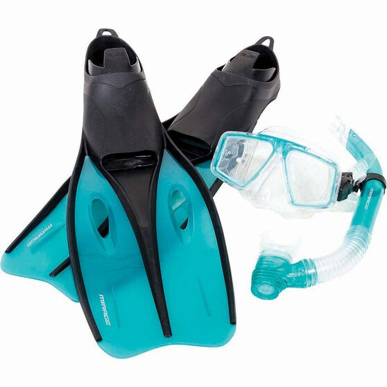 Mirage Adult Quest Snorkelling Set, , bcf_hi-res