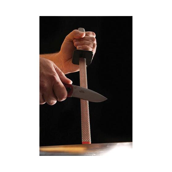 Smith 10in Diamond Oval Steel Knife Sharpener, , bcf_hi-res