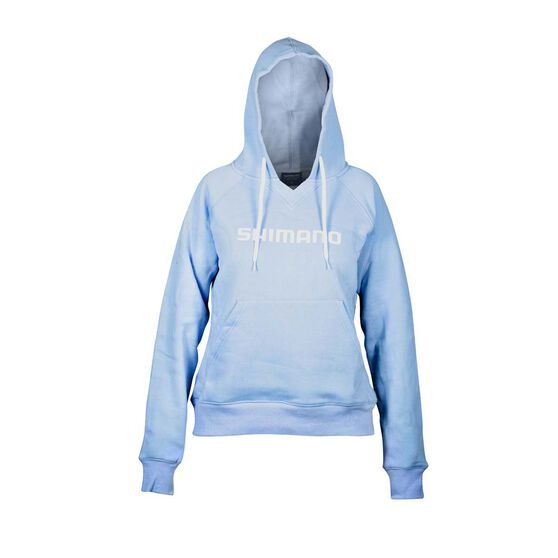 Shimano Fleece Hoodie, Sky Blue, bcf_hi-res