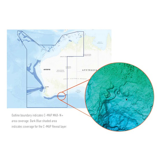 C-Map® Reveal: Darwin to Esperance Chart, , bcf_hi-res
