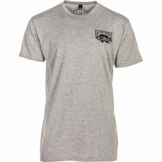 Tide Apparel Men's Estuary Tee Grey XL, Grey, bcf_hi-res