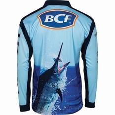 BCF Men's Marlin 19 Sublimated Polo, Navy, bcf_hi-res