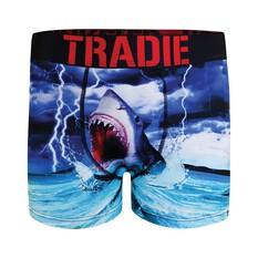 Tradie Men's Shark Bait Trunk Print S, Print, bcf_hi-res