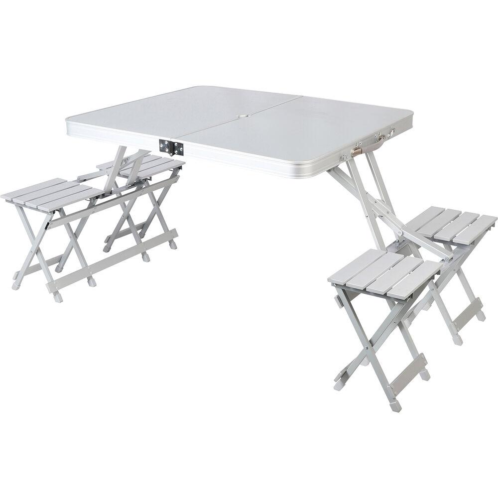wanderer folding table and chair set bcf. Black Bedroom Furniture Sets. Home Design Ideas