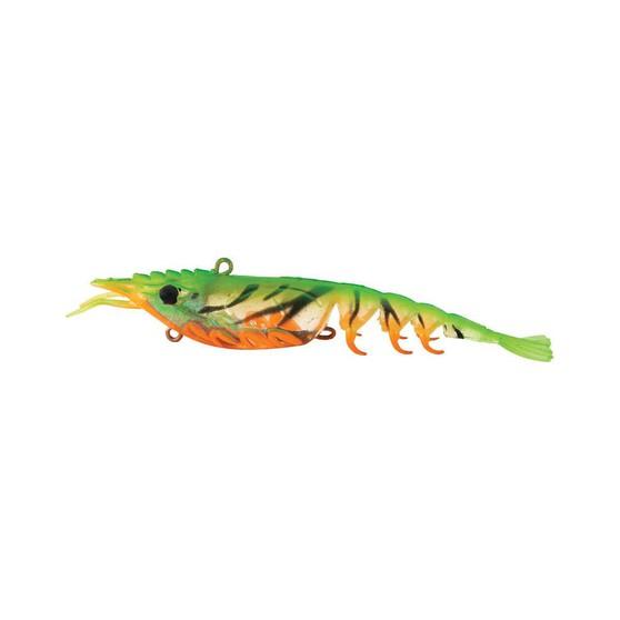 Berkley Shimma Shrimp Soft Vibe Lure 120mm Fire Tiger Shrimp, Fire Tiger Shrimp, bcf_hi-res