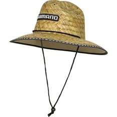 Shimano Men's Sunseeker Straw Hat, , bcf_hi-res