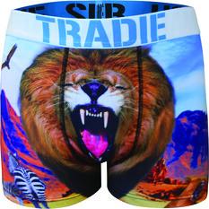 Tradie Men's Lenny Lion Trunk Print S, Print, bcf_hi-res