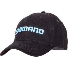 Shimano Unisex FlexFit Cap, Black, bcf_hi-res