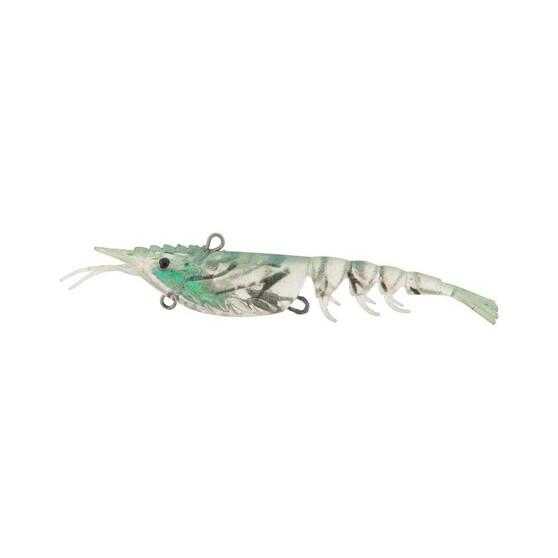 Berkley Shimma Shrimp Soft Vibe Lure 100mm Crystal Shrimp, Crystal Shrimp, bcf_hi-res