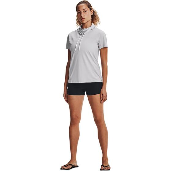 Under Armour Women's Fusion Shorts, Black / Jet Grey, bcf_hi-res