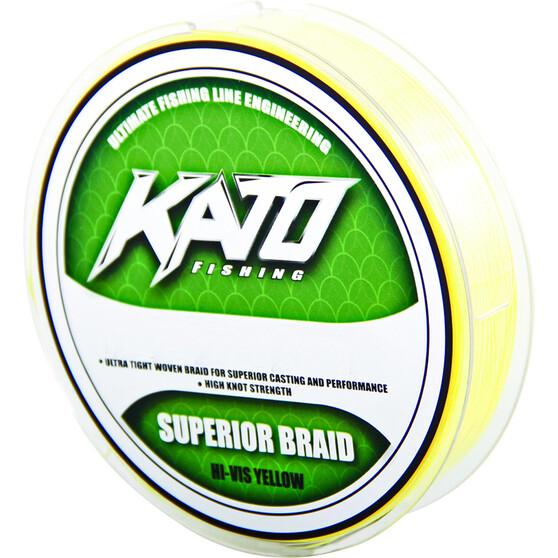 Kato Yellow Braid Line Per Metre 10 lb, , bcf_hi-res