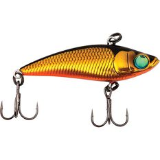 Savage Vibra Prey Vibe Lure 4cm Black Gold, Black Gold, bcf_hi-res