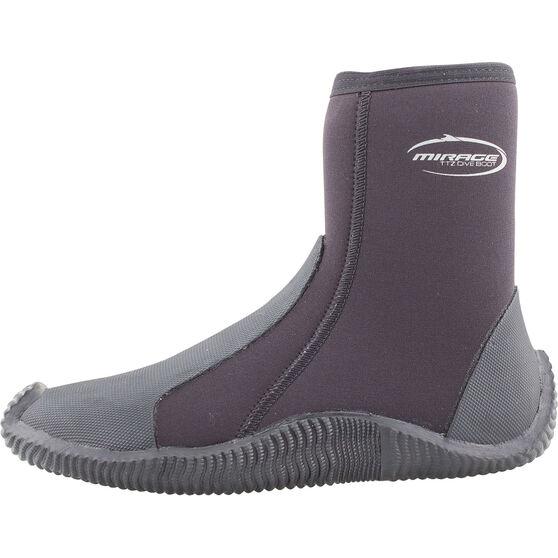 Mirage Unisex Dive Boots 5mm, Black, bcf_hi-res