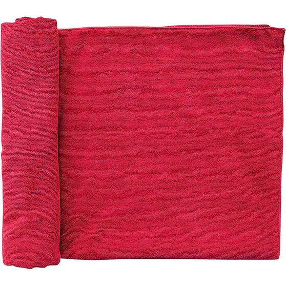 Outrak Microfibre Towel - Large Deep Red, Deep Red, bcf_hi-res