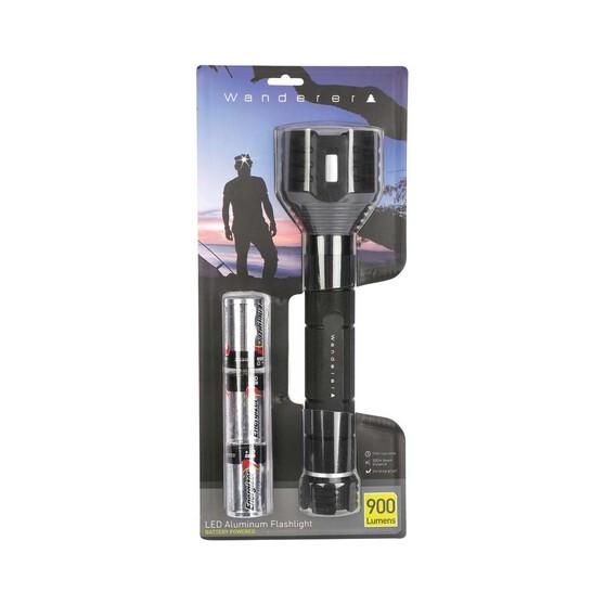Wanderer Aluminium 900 Lumen Torch, , bcf_hi-res