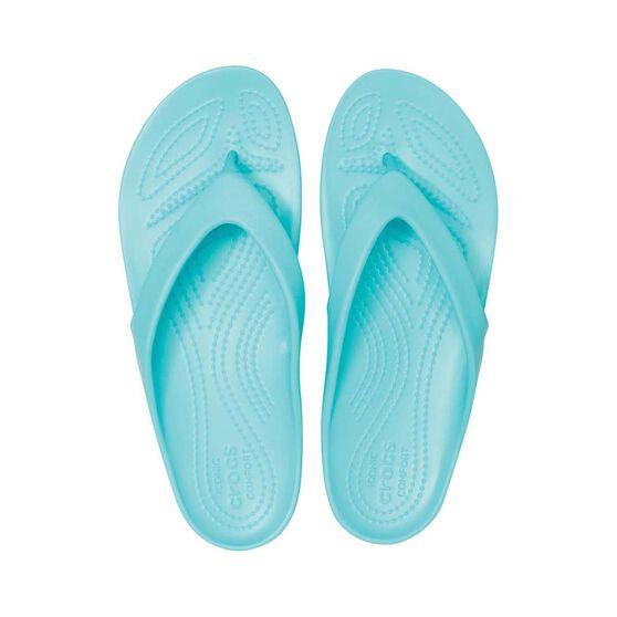 Crocs Kadee II Flip - Womens, Pool, 6, Pool, bcf_hi-res