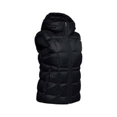 Under Armour Women's Hooded Down Vest Black / Jet Gray S, Black / Jet Gray, bcf_hi-res