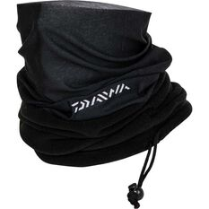 Daiwa Brushed Multiscarf - Unisex, Black, OSFM, , bcf_hi-res