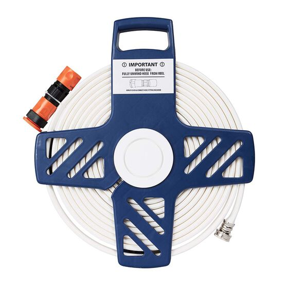Explore Flat Drinking Hose with Reel 9m, , bcf_hi-res