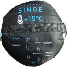 Wanderer Singe Camper Sleeping Bag, , bcf_hi-res