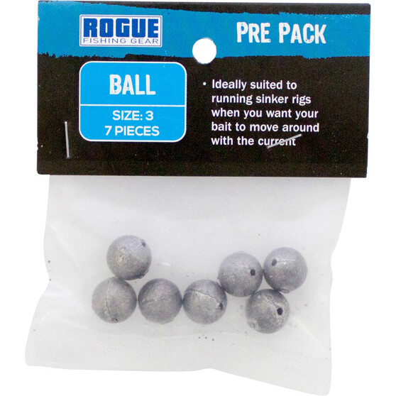 Rogue PP Ball Sinker Size 3 7 Pack, , bcf_hi-res