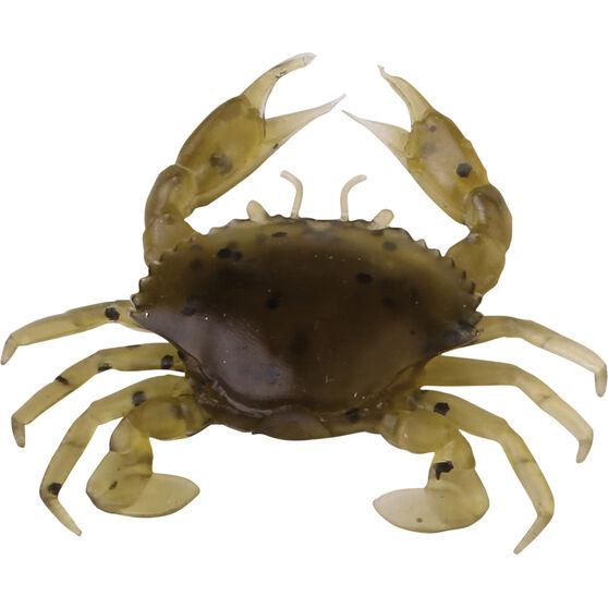 Savage 3D Manic Crab Soft Plastic Lure 2.5cm Cockle, Cockle, bcf_hi-res