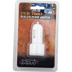 XTM Adaptor Dual USB 12V/24V 3.1A, , bcf_hi-res