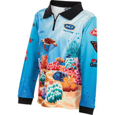 BCF Kids' Fun in the Sun Sublimated Polo Yellow 4, Yellow, bcf_hi-res