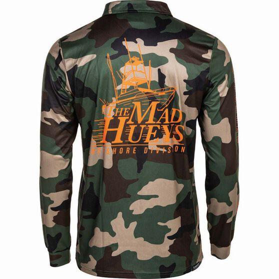 The Mad Hueys Men's Camo Fishing Jersey, Camo, bcf_hi-res