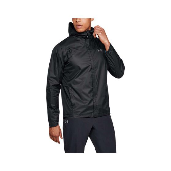 Under Armour Men's Overlook Jacket Black / Graphite M, Black / Graphite, bcf_hi-res