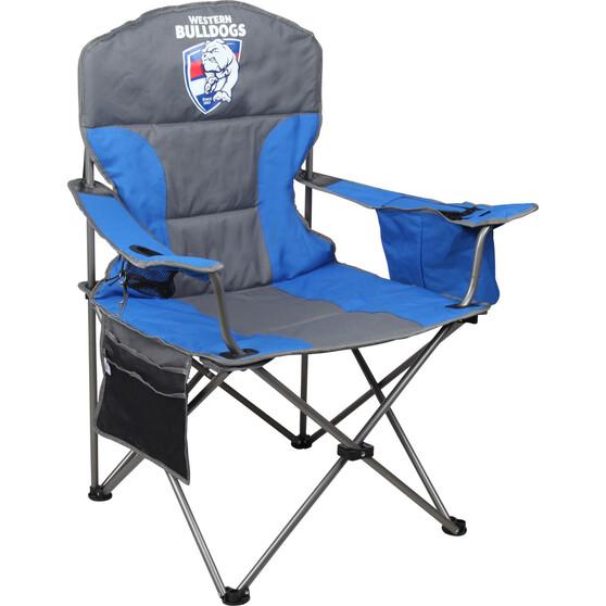 AFL Western Bulldogs Cooler Arm Chair, , bcf_hi-res
