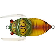 Tiemco Cicada II Bass Tune Surface Lure 35mm Olive, Olive, bcf_hi-res