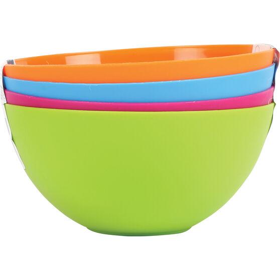 Plastic Bowls 4 Pack, , bcf_hi-res